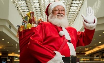 Papai Noel desembarca no Shopping Bouganville em Goiânia