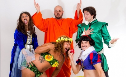 Companhia de teatro se apresenta em Brasília e abre a temporada de comédias