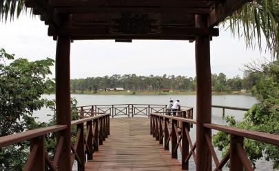 Parque do Sabiá, em Uberlândia, recebe 5 mil pessoas por dia