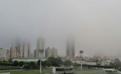 Goiânia amanhece fazendo 16°C com direito a neblina