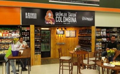 Uberlândia ganha primeiro Growler Station de cerveja artesanal a granel em supermercado