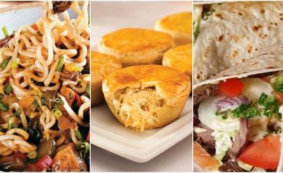 Restaurantes fast-food de comidas diferentes em Goiânia
