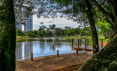 Lago das Rosas é eleito como o principal cartão-postal de Goiânia