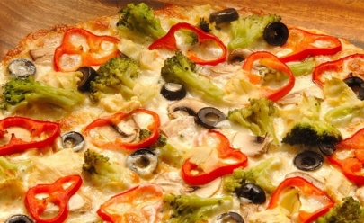 Pizzaria Rusticana é opção de pizza sem glúten, sem lactose e vegana em Goiânia