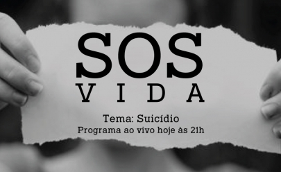SOS Vida: 'suicídio' será o tema da estreia do programa ao vivo do Curta Mais no YouTube