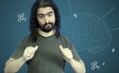 Youtuber científico Pirula faz palestra em Goiânia