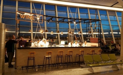 Charmoso wine bar desembarca em lounge do Aeroporto de Brasília