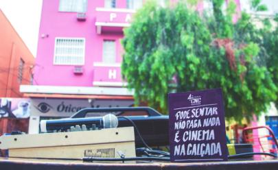 'Cinema na Calçada' traz sala de cinema e discoteca para o Grande Hotel em Goiânia