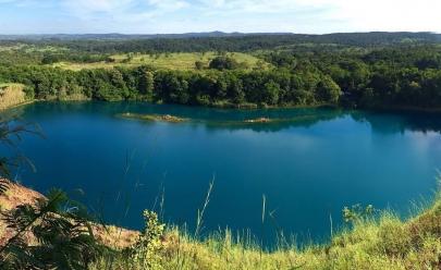 Lago Azul e pinturas rupestres são tesouros ainda pouco conhecidos em Mara Rosa, Goiás