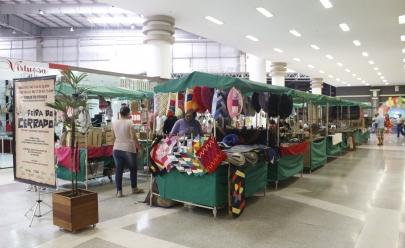 Feira de produtos orgânicos e artesanato em Goiânia no Shopping Estação Goiânia