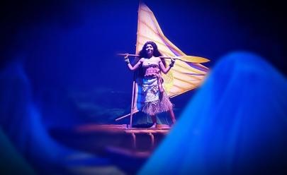 Espetáculo 'Moana: Uma Aventura no Mar' leva a magia do cinema ao Teatro Municipal em Uberlândia