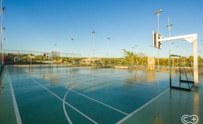 Descobrimos um parque que é um verdadeiro complexo esportivo em Goiânia