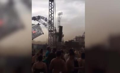 DJ morre após queda de palco em festival eletrônico em Porto Alegre