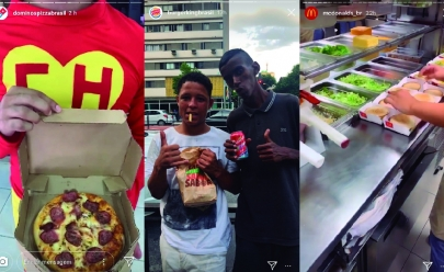Gigantes do fastfood se desafiam e distribuem comida de graça para moradores de rua