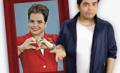 Gustavo Mendes interpreta Dilma em seu novo espetáculo