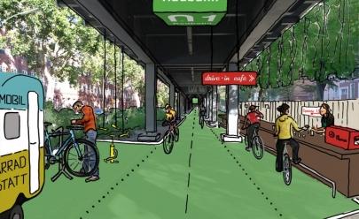 Berlim terá ciclovia coberta com hortas e irá gerar energia limpa
