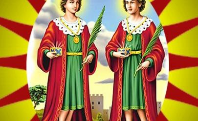 Saiba quem foram Cosme e Damião e porquê ganhamos doces no dia deles