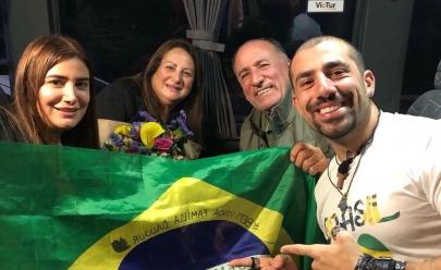 Após 7 anos, Ex-BBB Kaysar reencontra sua família