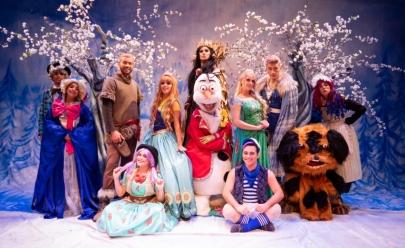 Aventuras do Reino Congelado chega em Uberlândia com personagens de Frozen e Guardião Jack Frost