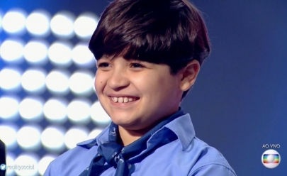 Thomas é o campeão do The Voice Kids