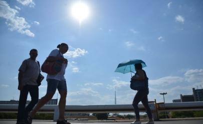 Após dia mais quente do ano, previsão de calor continua para o Distrito Federal