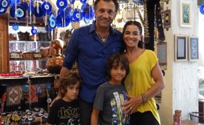 Domingos Montagner: galã, homem de família, casado há 14 anos e pai coruja de três filhos