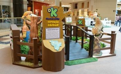 Shopping de Brasília recebe exposição da Discovery Kids gratuita