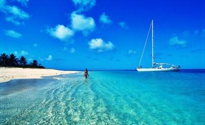 Ilha no Caribe paga US$ 300 para você visitá-la em 2017