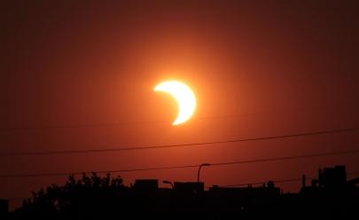 Saiba quando e como será possível ver o eclipse solar em Goiânia