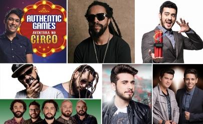 5 shows imperdíveis para ir em Goiânia este final de semana