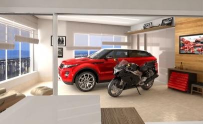 Goiânia terá o primeiro prédio do Brasil com estacionamento para carro dentro da sala