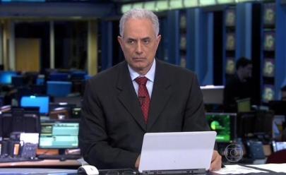 William Waack é afastado do 'Jornal da Globo' após vídeo cair na internet