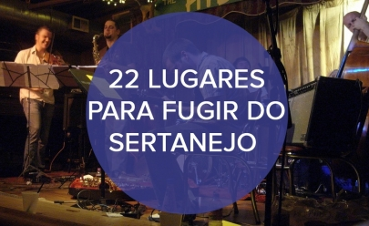 22 lugares para fugir do sertanejo em Goiânia