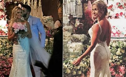 Casamento de Gusttavo Lima e Andressa Suíta reúne famosos; veja fotos