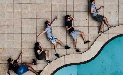 Banda Pó de Mico faz 'jam session' gratuito na Rua do Lazer em Goiânia
