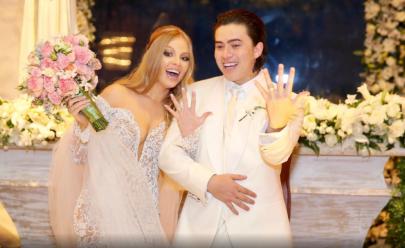 Fotos e videos do casamento de Windersson Nunes e Luisa Sonza movimentam as redes sociais; confira