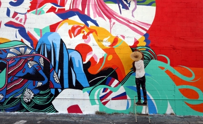 Artistas de Goiânia são os únicos brasileiros selecionados para Festival Internacional de arte urbana
