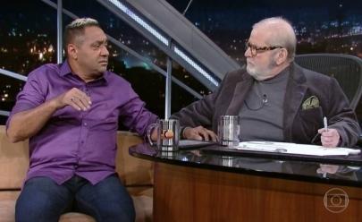 Tiririca dá vexame em entrevista no Jô Soares; assista o vídeo
