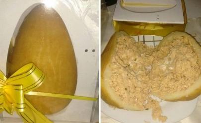 Ovo de Páscoa de coxinha faz sucesso e muda a vida de empregada doméstica