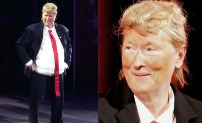 Meryl Streep parodia Trump em evento em Nova York