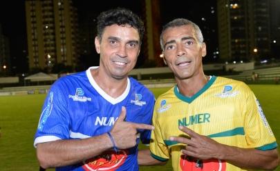 Futebol Solidário em Goiânia confirma Alex Dias e Romário no elenco