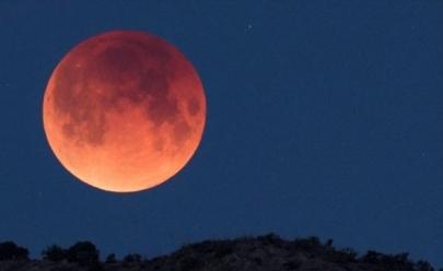 Goiânia terá vista privilegiada para Eclipse de Lua Vermelha em Julho