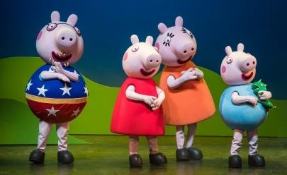 Peppa Pig e sua turma desembarcam em Brasília para show da turnê internacional
