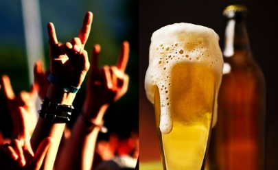 Evento de rock open bar acontece amanhã em Goiânia