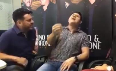 Bruno posta vídeo com Marrone cantando em primeira voz e surpreende fãs