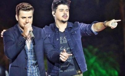 Vídeo: bomba é lançada no palco durante show da dupla Zé Neto & Cristiano