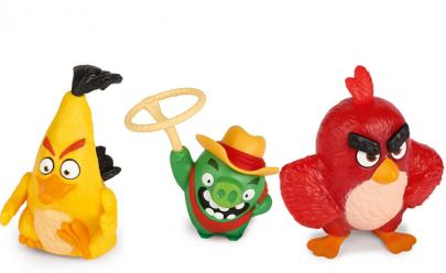 Personagens do Angry Birds são a nova atração do McLanche Feliz