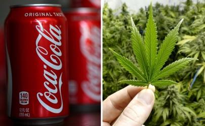 Coca-Cola planeja lançar edição da bebida à base de maconha