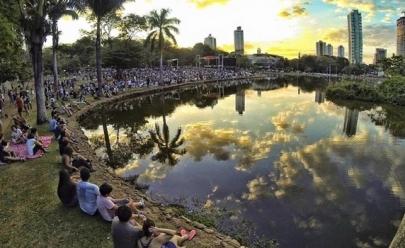 Filarmônica de Goiás apresenta clássicos do cinema e hits do pop em parque de Goiânia