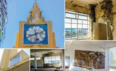 Antiga Estação Ferroviária de Goiânia é o retrato do abandono